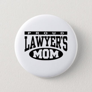 Proud Lawyer's Mom 6 Cm Round Badge