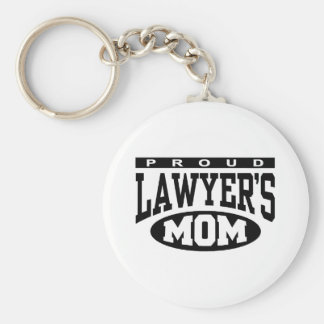 Proud Lawyer's Mom Key Ring