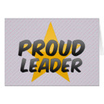 Proud Leader Card