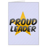 Proud Leader Greeting Card