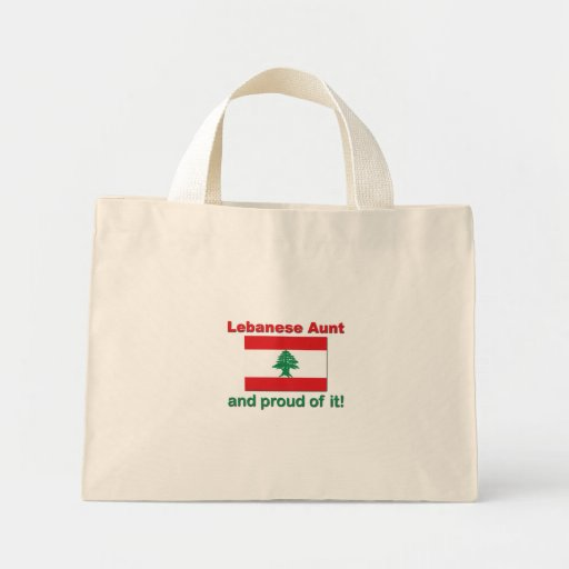 Proud Lebanese Aunt Bag