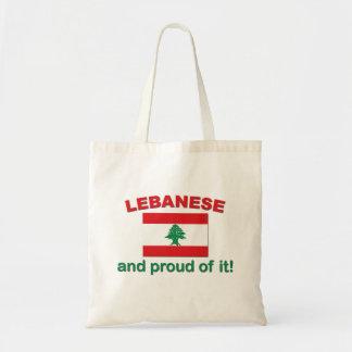 Proud Lebanese Canvas Bag