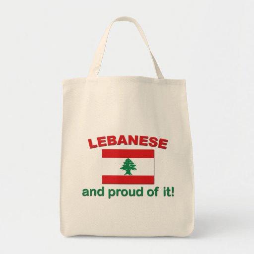 Proud Lebanese Bag