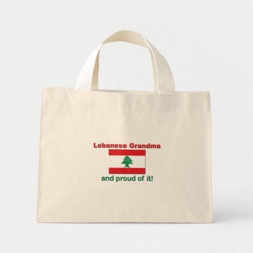 Proud Lebanese Grandma Bag