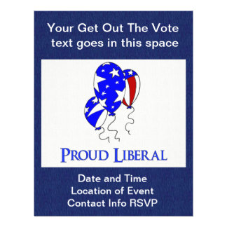 Proud Liberal Flyers