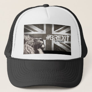 Proud Lion #Brexit Commemorative Art Trucker Hat