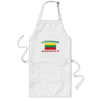 Proud Lithuanian Long Apron