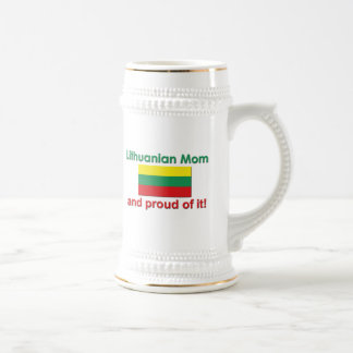 Proud Lithuanian Mom Coffee Mugs