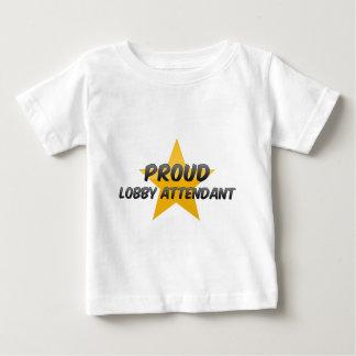 Proud Lobby Attendant Tshirts