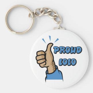 """Proud Lolo"" Keychain"