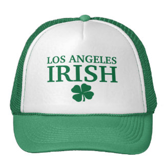 Proud LOS ANGELES IRISH! St Patrick's Day Mesh Hats