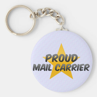Proud Mail Carrier Keychain