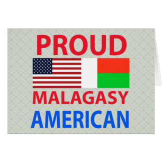Proud Malagasy American Cards