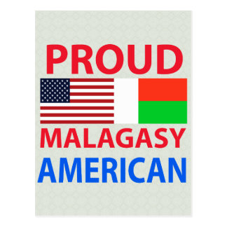 Proud Malagasy American Postcards