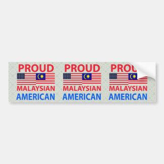 Proud Malaysian American Bumper Stickers