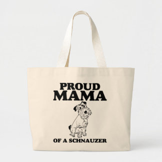 Proud Mama of a Schnauzer Tote Bag