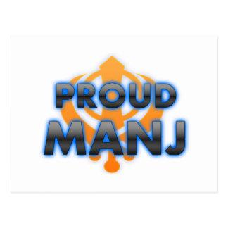 Proud Manj, Manj pride Postcard
