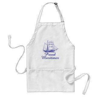 Proud Maritimer sailing ship Nova Scotia apron