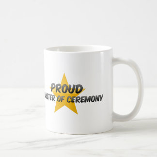Proud Master Of Ceremony Coffee Mugs