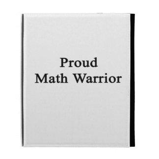 Proud Math Warrior iPad Case