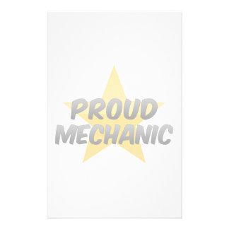 Proud Mechanic Custom Stationery
