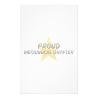 Proud Mechanical Drafter Personalized Stationery