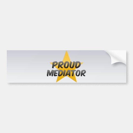 Proud Mediator Bumper Sticker