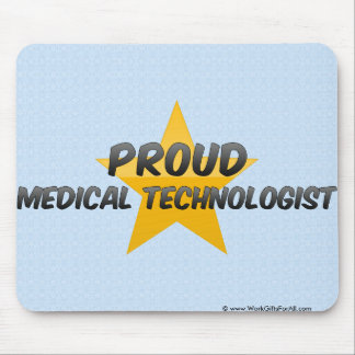 Proud Medical Technologist Mousepads