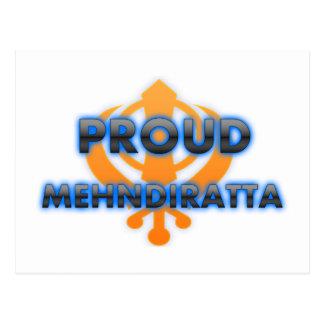 Proud Mehndiratta, Mehndiratta pride Postcard