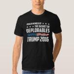 Proud Member Of The Basket of Deplorables Trump Tees