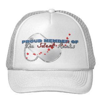 Proud Member of the Silent Ranks Mesh Hats