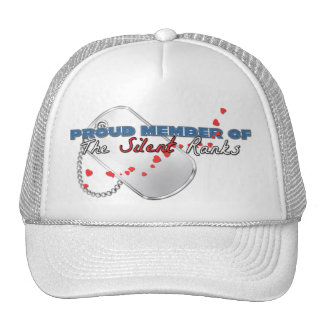 Proud Member of the Silent Ranks Mesh Hats