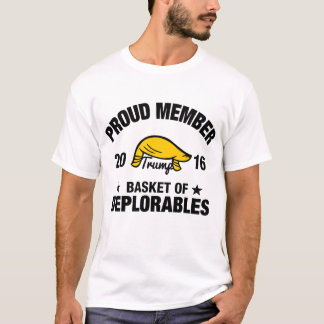Proud Member The Basket of Deplorables Trump T-Shirt
