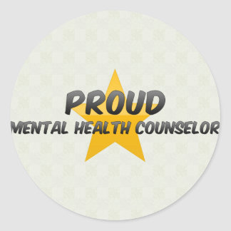 Proud Mental Health Counselor Stickers
