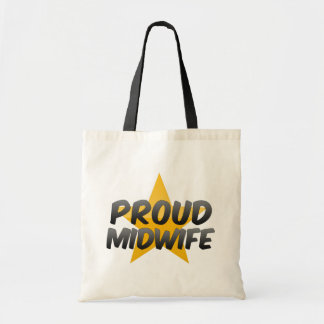Proud Midwife Canvas Bags