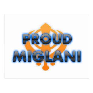 Proud Miglani, Miglani pride Postcard