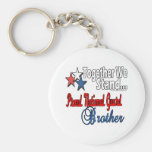 Proud Military Brother Key Chains