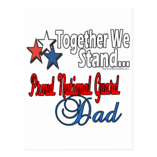 Proud Military Dad Postcard