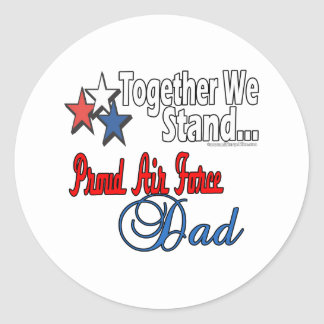Proud Military Dad Sticker