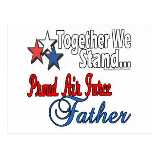 Proud Military Father Postcard