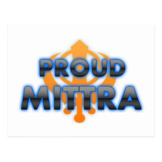 Proud Mittra, Mittra pride Postcards