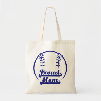 PROUD MOM BUDGET TOTE BAG