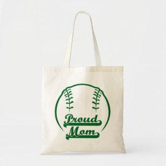 PROUD MOM BUDGET TOTE BAG