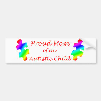 Proud Mom Bumper Sticker
