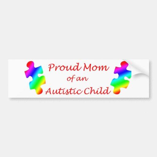 Proud Mom Bumper Sticker