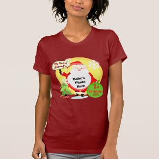 Proud Mom Grandma Christmas Photo T-Shirt