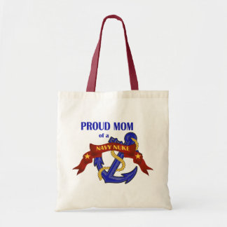 Proud Mom of a Navy Nuke Budget Tote Bag