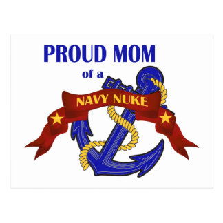 Proud Mom of a Navy Nuke Postcard