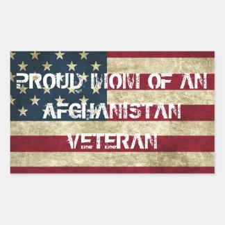 Proud Mom of an Afghanistan Veteran Sticker