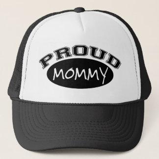Proud Mommy (Black) Trucker Hat